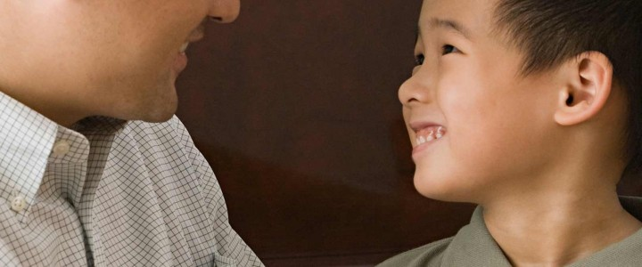 What do you do if your child's speech development seems slow?