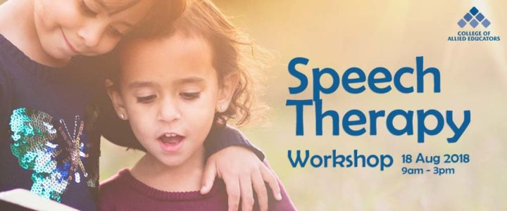 Speech Therapy Workshop