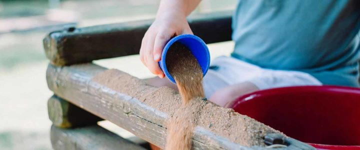 Does it mean anything for a child to play with sand?